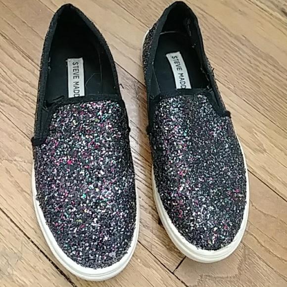 e6c85ee53a7 Steve Madden Glitter Loafer